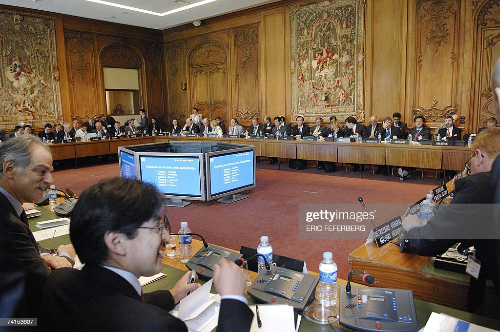 Trade or finance ministers from 30 leading industrialised nations attend the annual meeting of the Organisation for Economic Cooperation and...