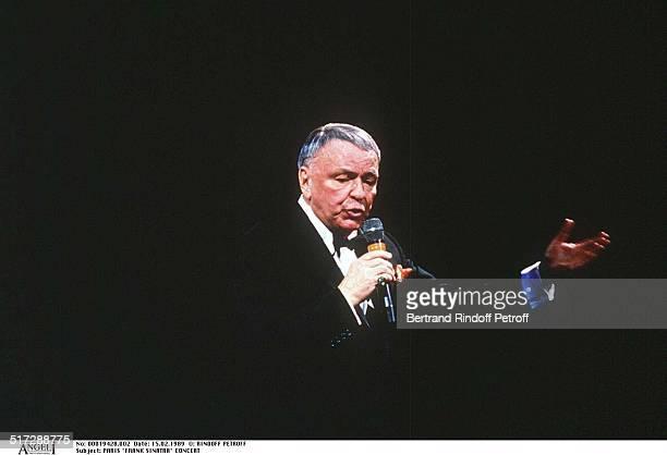 Paris 'Frank Sinatra' Concert