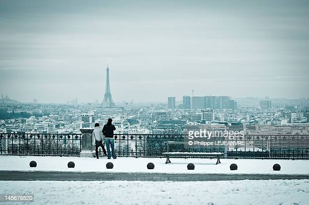 Paris from Parc de Saint-Cloud