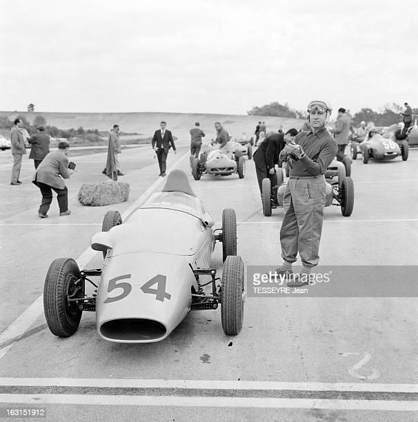 Paris Grand Prix 1959 En France le 3 mai 1959 se déroule le Grand Prix automobile de Paris une course de Formule 2 sur l'autodrome de LinasMonthléry...