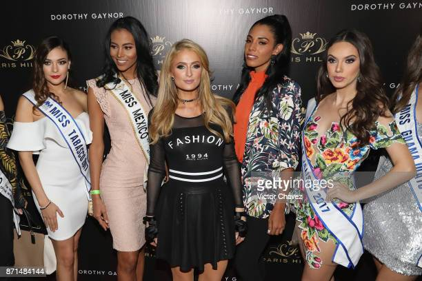 Paris Hilton and guests attend the launch of Paris Hilton's new shoe line for Dorothy Gaynor at Pabellon Polanco on November 7 2017 in Mexico City...