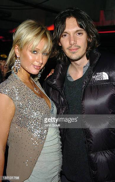 Paris Hilton and Lukas Haas during 2005 Park City Motorola Late Night Lounge Sponsored by Motorola and Splinter Cell Chaos Theory at Motorola Lodge...