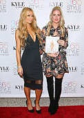 Paris Hilton and Nicky Hilton attend Nicky Hilton's 365 Style book party for the filming of 'The Real Housewives Of Beverly Hills' at Kyle by Alene...