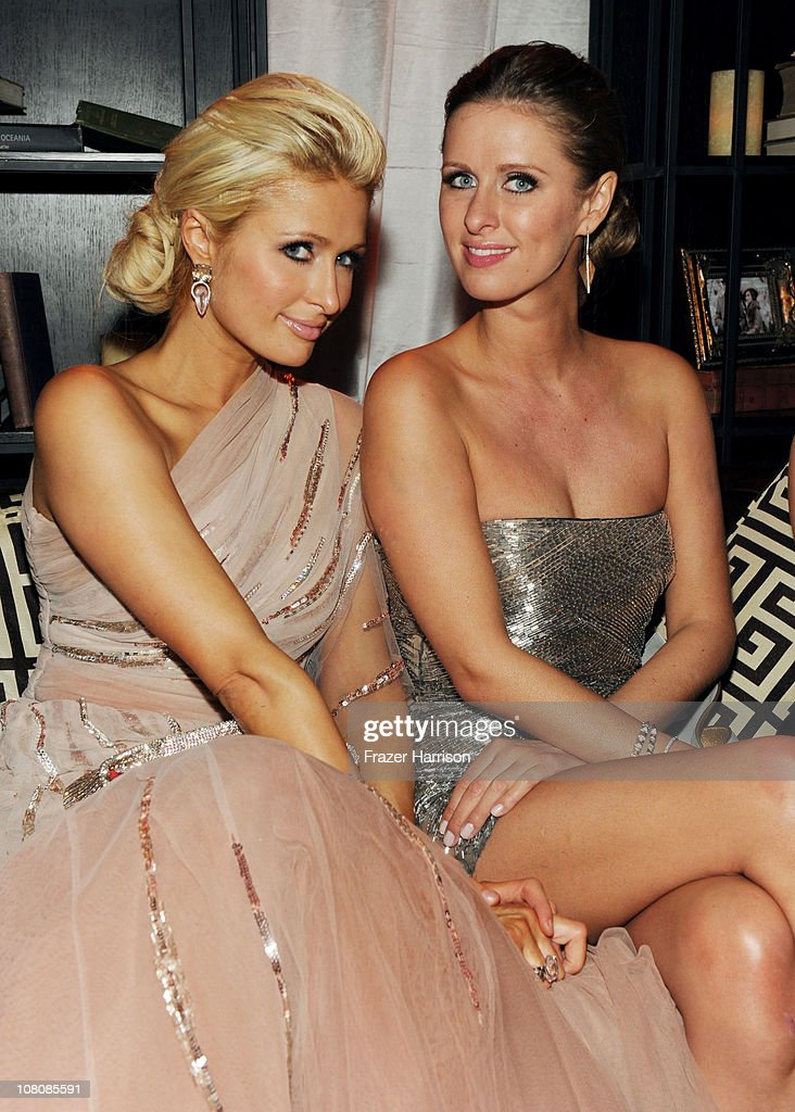<a gi-track='captionPersonalityLinkClicked' href=/galleries/search?phrase=Paris+Hilton&family=editorial&specificpeople=171761 ng-click='$event.stopPropagation()'>Paris Hilton</a> (L) and Nicky Hilton attend Relativity Media and The Weinstein Company's 2011 Golden Globe Awards After Party presented by Marie Claire held at The Beverly Hilton hotel on January 16, 2011 in Beverly Hills, California.