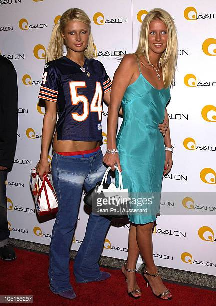 Paris Hilton and Nicky Hilton during Avalon Hollywood Grand Opening Arrivals at Avalon in Hollywood California United States