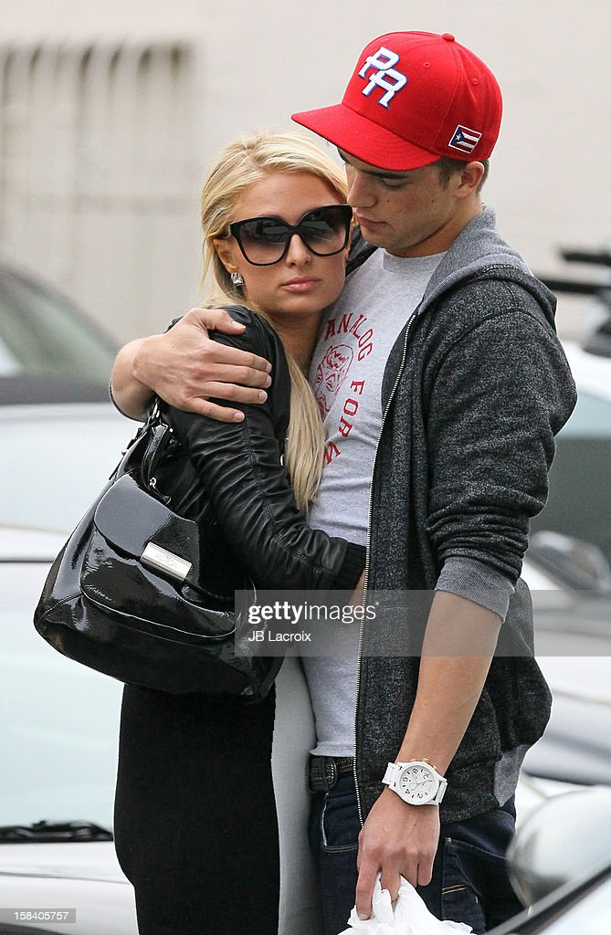 <a gi-track='captionPersonalityLinkClicked' href=/galleries/search?phrase=Paris+Hilton&family=editorial&specificpeople=171761 ng-click='$event.stopPropagation()'>Paris Hilton</a> and River Viiper are seen shopping in Beverly Hills on December 15, 2012 in Los Angeles, California.