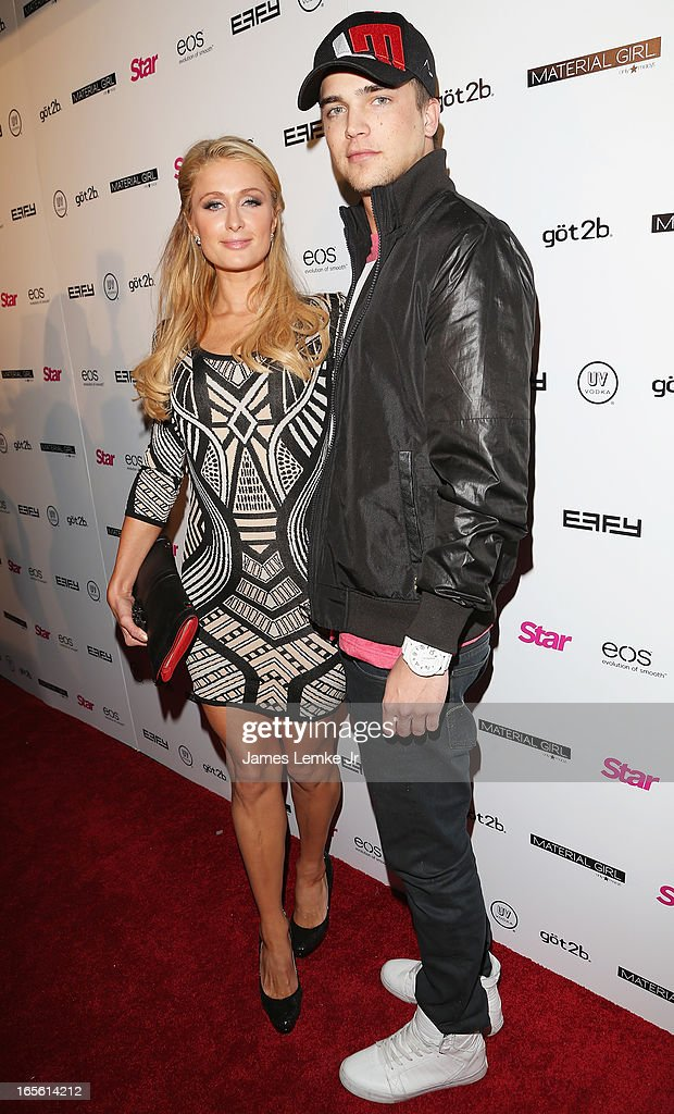 Paris Hilton and River Viiperi attend the Star Magazine's 'Hollywood Rocks' Party held at the Playhouse Hollywood on April 4, 2013 in Los Angeles, California.