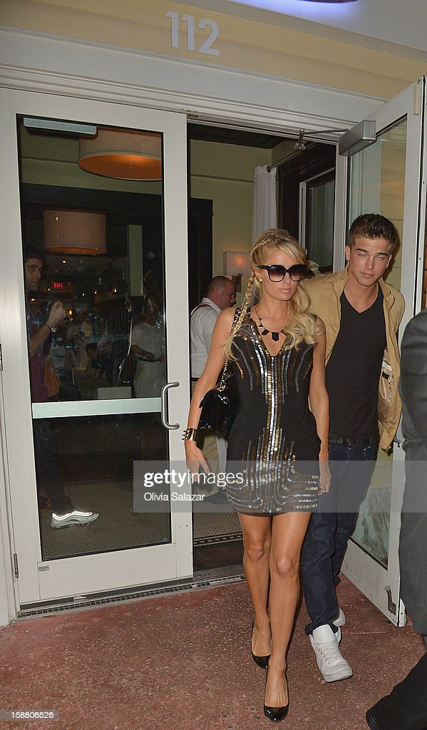 <a gi-track='captionPersonalityLinkClicked' href=/galleries/search?phrase=Paris+Hilton&family=editorial&specificpeople=171761 ng-click='$event.stopPropagation()'>Paris Hilton</a> and River Viiperi sighting at Prime 112 Steakhouse on December 30, 2012 in Miami, Florida.