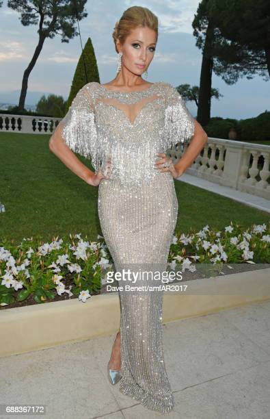 Paris Hilton arrives at the amfAR Gala Cannes 2017 at Hotel du CapEdenRoc on May 25 2017 in Cap d'Antibes France