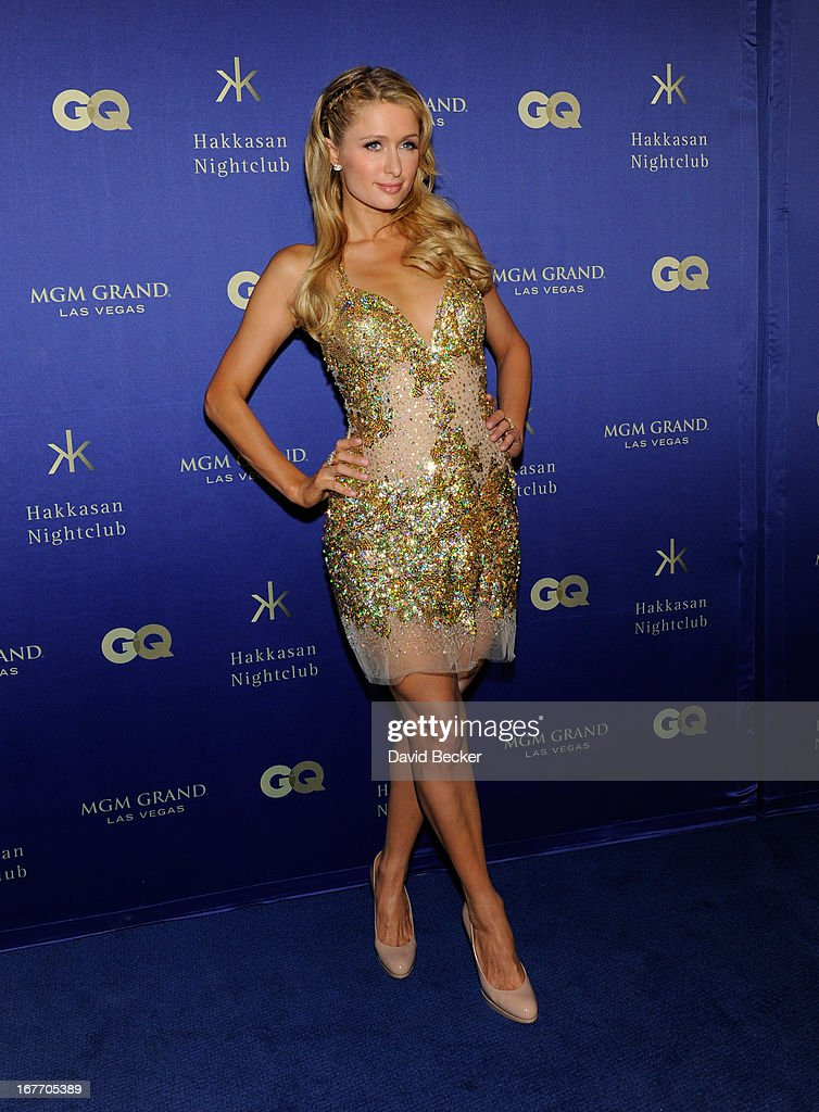 Paris Hilton arrives at the grand opening of Hakkasan Las Vegas Restaurant and Nightclub at the MGM Grand Hotel/Casino on April 27, 2013 in Las Vegas, Nevada.