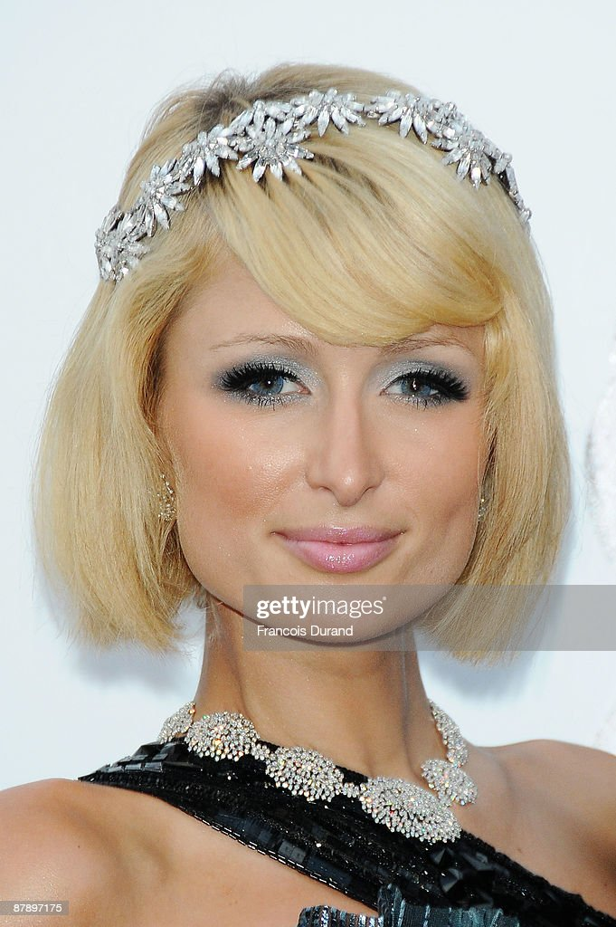 Paris Hilton arrives for the amfAR Cinema Against AIDS 2009 benefit at the Hotel du Cap during the 62nd Annual Cannes Film Festival on May 21 2009 in...
