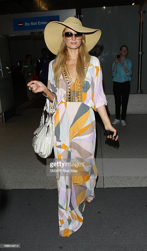 Paris Hilton as seen on May 26 2013 in Los Angeles California