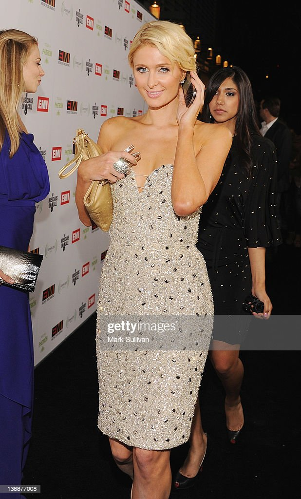 <a gi-track='captionPersonalityLinkClicked' href=/galleries/search?phrase=Paris+Hilton&family=editorial&specificpeople=171761 ng-click='$event.stopPropagation()'>Paris Hilton</a> attend the EMI Post-GRAMMY Party At The Capitol Tower at Capitol Records Tower on February 12, 2012 in Los Angeles, California.