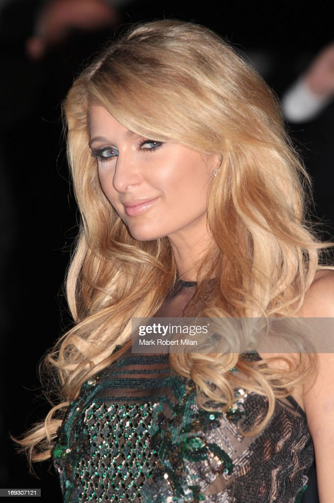 Paris Hilton attending the Roberto Cavalli the Yacht Party during The 66th Annual Cannes Film Festival on May 22, 2013 in Cannes, France.