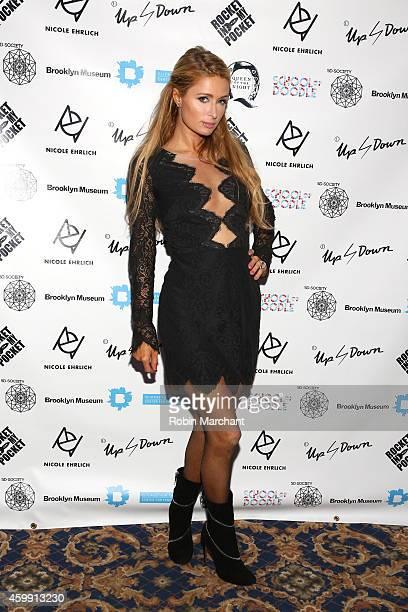 Paris Hilton attends 2nd Annual Women In Art Benefit on December 3 2014 in Miami Beach Florida