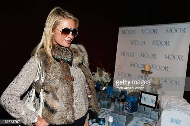 Paris Hilton attends Day 2 of Kari Feinstein Style Lounge on January 19 2013 in Park City Utah