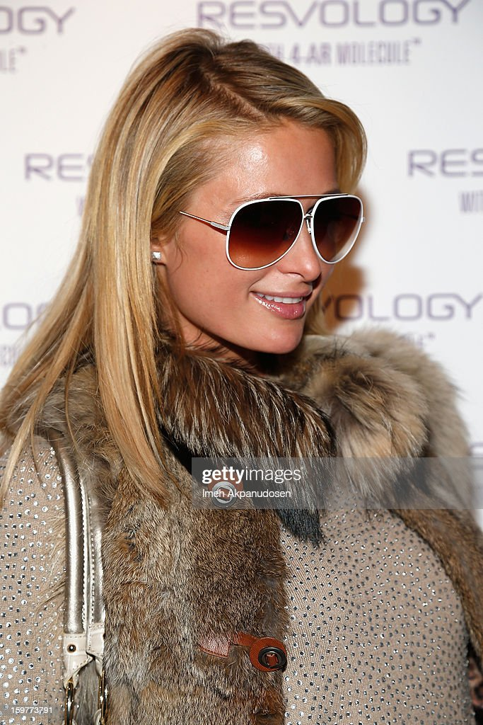 Paris Hilton attends Day 2 of Kari Feinstein Style Lounge on January 19, 2013 in Park City, Utah.