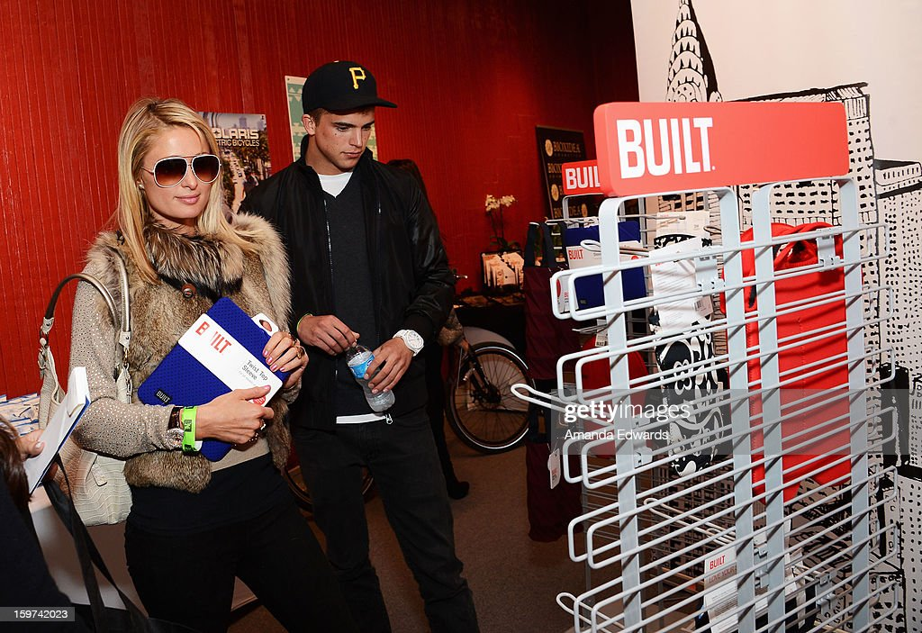 Paris Hilton attends Day 2 of the Kari Feinstein Style Lounge on January 19, 2013 in Park City, Utah.
