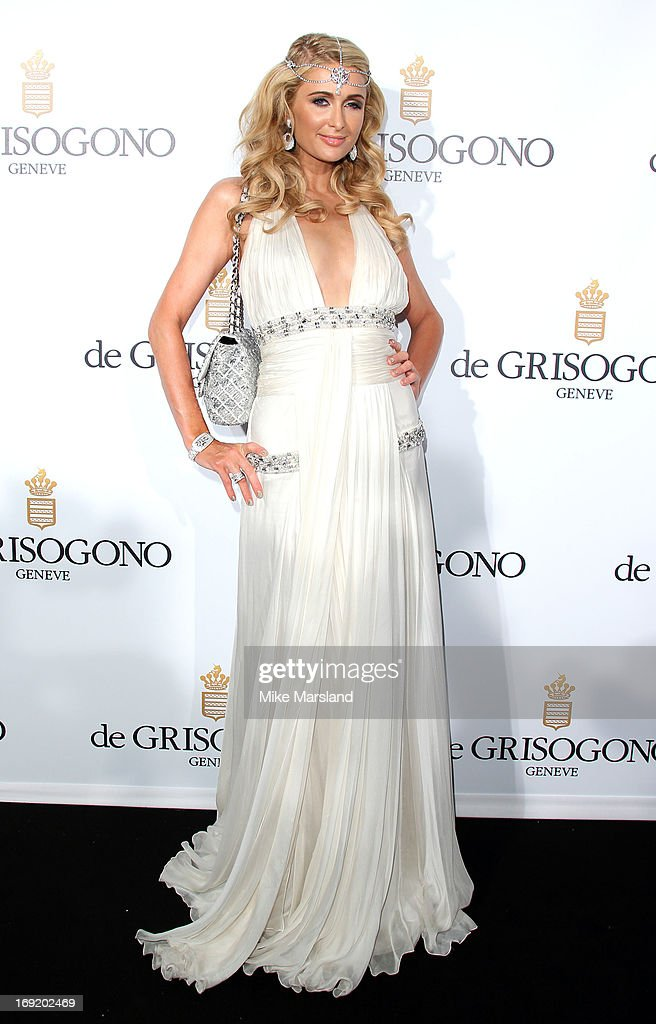 <a gi-track='captionPersonalityLinkClicked' href=/galleries/search?phrase=Paris+Hilton&family=editorial&specificpeople=171761 ng-click='$event.stopPropagation()'>Paris Hilton</a> attends De Grisogono party during The 66th Annual Cannes Film Festival on May 21, 2013 in Cannes, France.