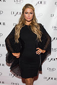 Paris Hilton attends DuJour Magazine's April Cover Celebration at PHD at the Dream Downtown on April 27 2015 in New York City
