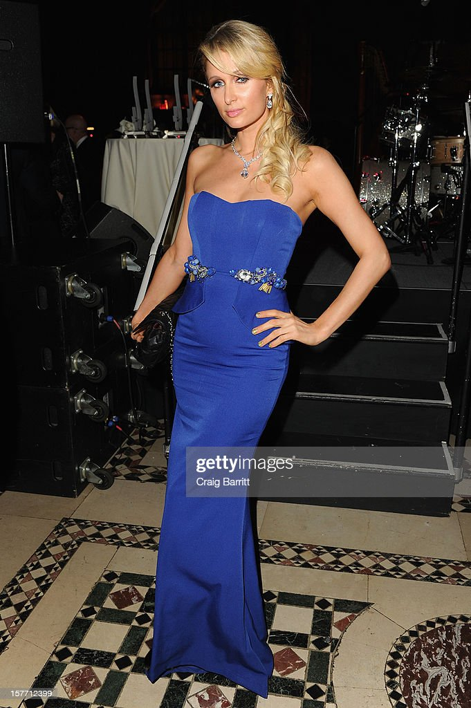 Paris Hilton attends European School Of Economics Foundation Vision And Reality Awards on December 5, 2012 in New York City.
