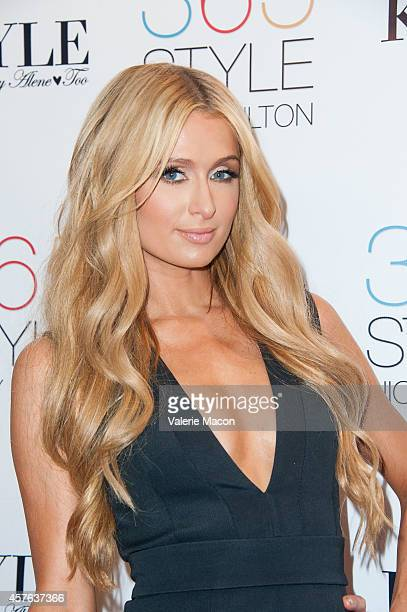 Paris Hilton attends Nicky Hilton's '365 Style' book party for the filming of 'The Real Housewives of Beverly Hills' at Kyle by Alene Too on October...