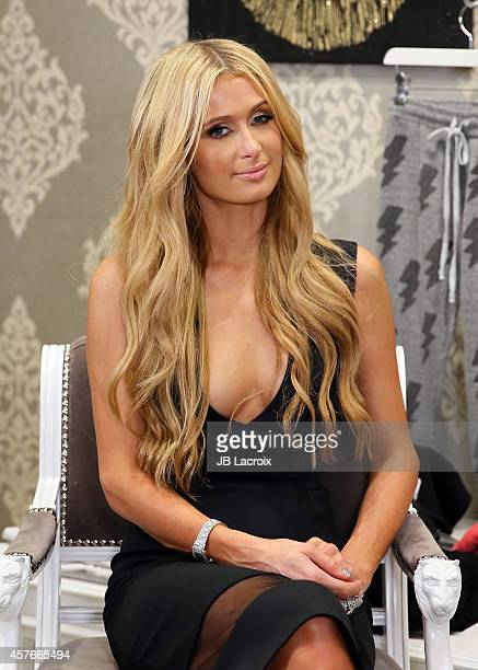 Paris Hilton attends Nicky Hilton's 365 Style book party for the filming of 'The Real Housewives Of Beverly Hills' at Kyle by Alene Too on October 21...