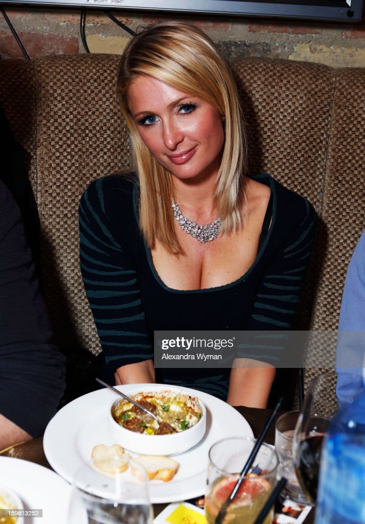 Paris Hilton attends Night 3 of ChefDance on January 20, 2013 in Park City, Utah.