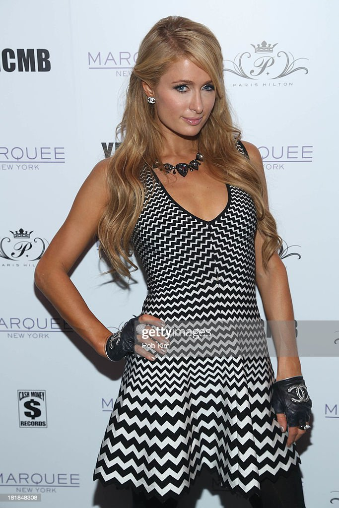 Paris Hilton attends Paris Hilton's 'Good Time' Single Release Party at Marquee on September 25, 2013 in New York City.