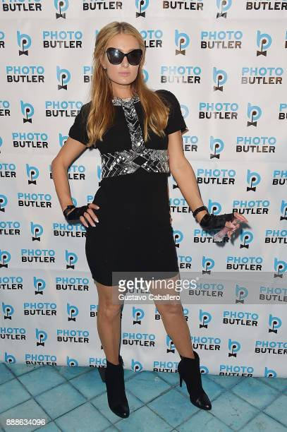Paris Hilton attends Rosario Dawson Hosts The Launch Of Photo Butler At Art Basel With Anna Rothschild And Claudine De Niro at Soho House Miami on...