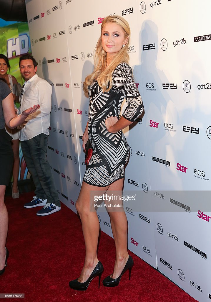 <a gi-track='captionPersonalityLinkClicked' href=/galleries/search?phrase=Paris+Hilton&family=editorial&specificpeople=171761 ng-click='$event.stopPropagation()'>Paris Hilton</a> attends Star Magazine's 'Hollywood Rocks' party at Playhouse Hollywood on April 4, 2013 in Los Angeles, California.