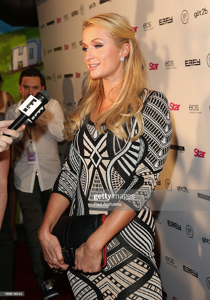 Paris Hilton attends Star Magazine's 'Hollywood Rocks' party at Playhouse Hollywood on April 4, 2013 in Los Angeles, California.