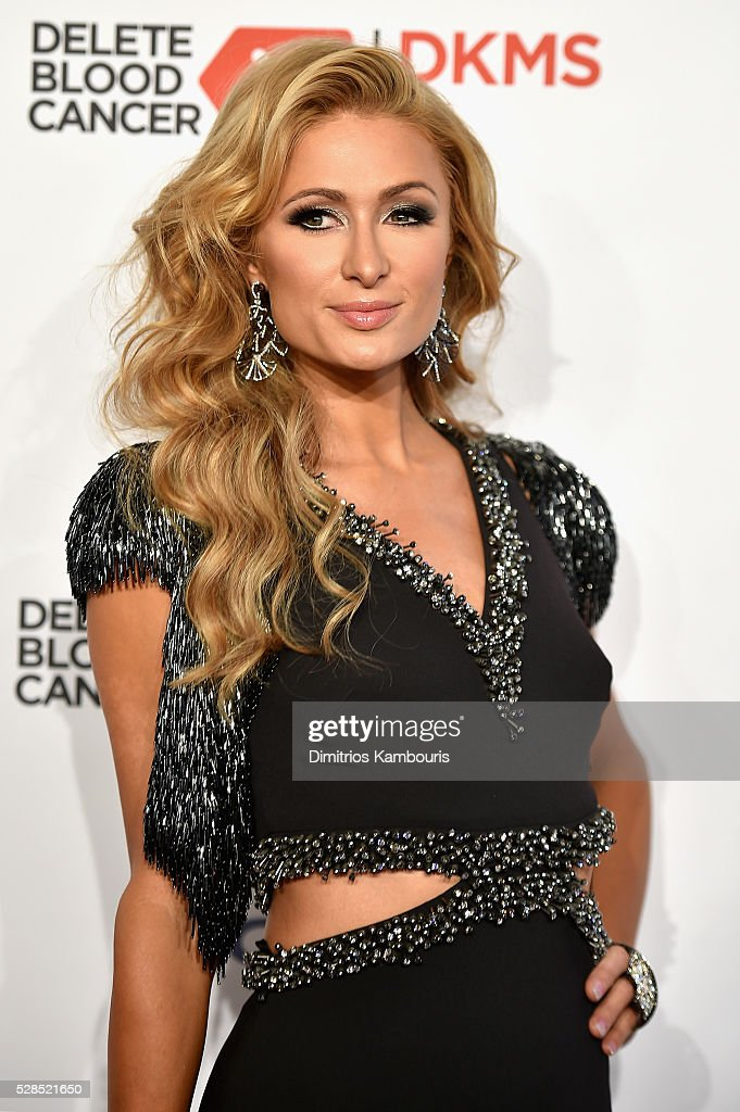 Paris Hilton attends the 10th Annual Delete Blood Cancer DKMS Gala at Cipriani Wall Street on May 5, 2016 in New York City.