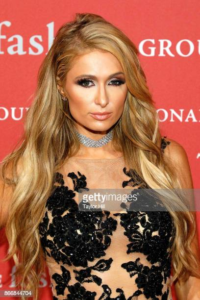Paris Hilton attends the 2017 Night Of Stars Gala at Cipriani Wall Street on October 26 2017 in New York City