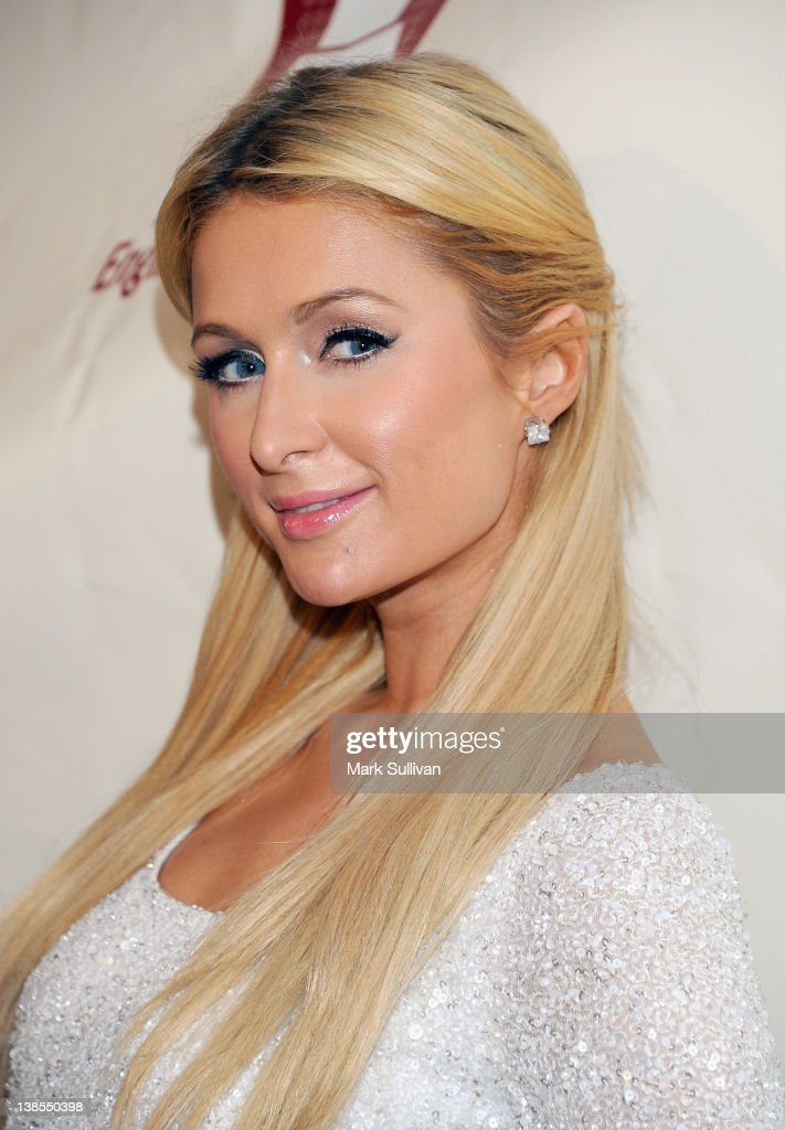 <a gi-track='captionPersonalityLinkClicked' href=/galleries/search?phrase=Paris+Hilton&family=editorial&specificpeople=171761 ng-click='$event.stopPropagation()'>Paris Hilton</a> attends The 54th Annual GRAMMY Awards P&E Wing Event at The Village Recording Studios on February 8, 2012 in Los Angeles, California.