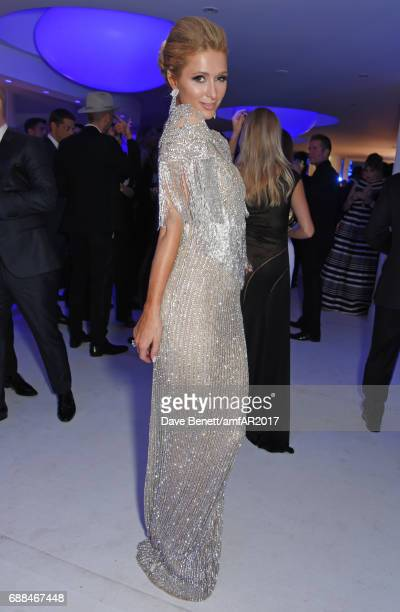 Paris Hilton attends the amfAR Gala Cannes 2017 at Hotel du CapEdenRoc on May 25 2017 in Cap d'Antibes France