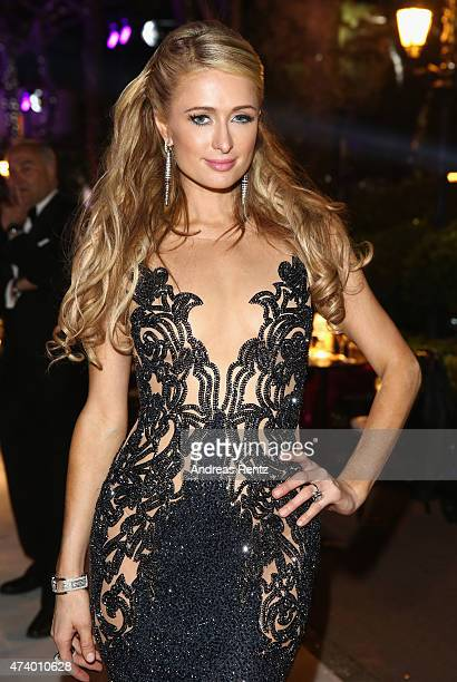 Paris Hilton attends the De Grisogono party during the 68th annual Cannes Film Festival on May 19 2015 in Cap d'Antibes France