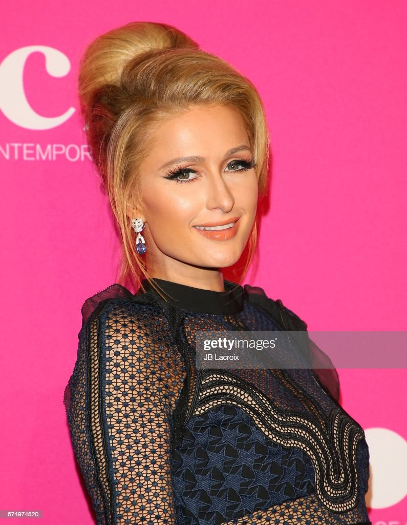 Paris Hilton attends the MOCA Gala 2017 on April 29, 2017 in Los Angeles, California.