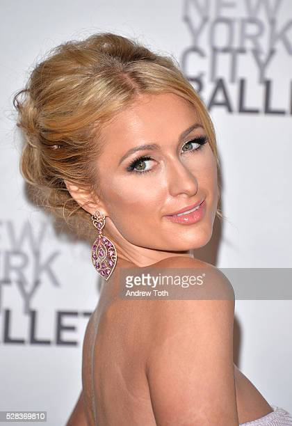 Paris Hilton attends the New York City Ballet's Spring Gala on May 04 2016 in New York New York