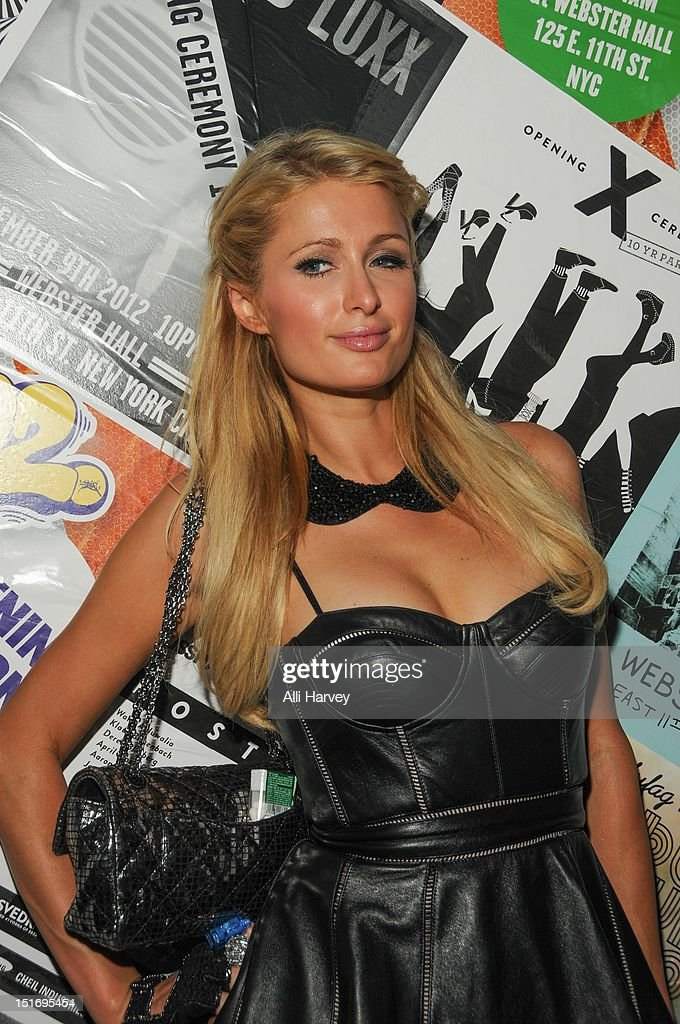 <a gi-track='captionPersonalityLinkClicked' href=/galleries/search?phrase=Paris+Hilton&family=editorial&specificpeople=171761 ng-click='$event.stopPropagation()'>Paris Hilton</a> attends the Opening Ceremony Spring/Summer 2013 Fashion Week Party at Webster Hall on September 9, 2012 in New York City.