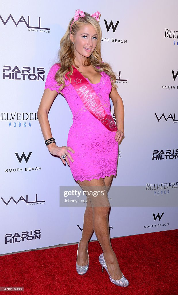 Paris Hilton attends the Paris Hilton Debuts New Single and Nicky Ultimate Bachelorette Party at Wall at W Hotel on June 6, 2015 in Miami Beach, Florida.