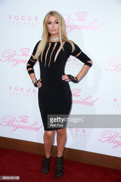 Paris Hilton attends the premiere of Focus Features' 'The Beguiled' at the Directors Guild of America on June 12 2017 in Los Angeles California