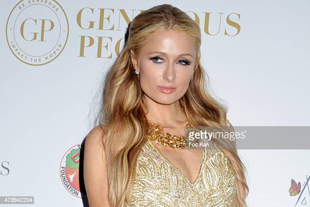 Paris Hilton attends The The Heart Fund The 68th Annual Cannes Film Festival at Carlton Hotel on May 18 2015 in Cannes France