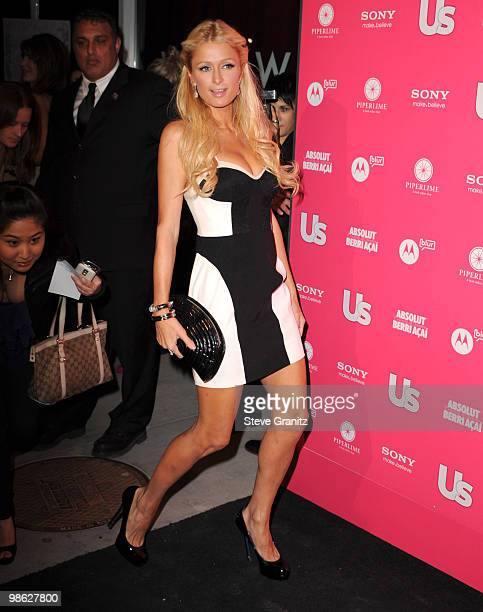 Paris Hilton attends the Us Weekly Hot Hollywood Style Issue Event at Drai's Hollywood on April 22 2010 in Hollywood California