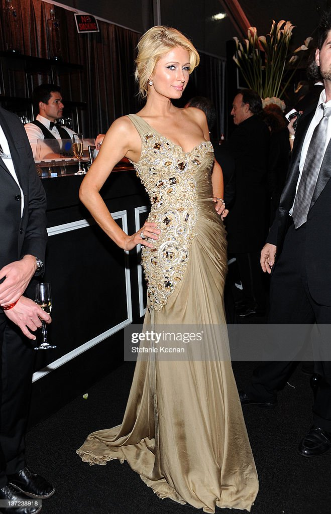 <a gi-track='captionPersonalityLinkClicked' href=/galleries/search?phrase=Paris+Hilton&family=editorial&specificpeople=171761 ng-click='$event.stopPropagation()'>Paris Hilton</a> attends The Weinstein Company Celebration of the 2012 Golden Globes presented by Chopard held at The Beverly Hilton hotel on January 15, 2012 in Beverly Hills, California.