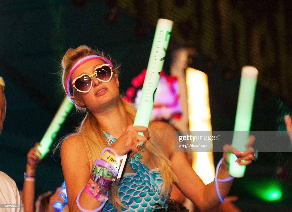 Paris Hilton attends Ultra Music Festival 14 at Bayfront Park Amphitheater on March 25, 2012 in Miami, Florida.