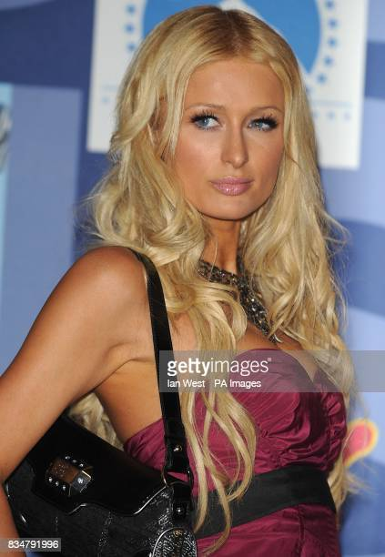 Paris Hilton backstage at the MTV Video Music Awards 2008 at Paramount Studios Hollywood Los Angeles California