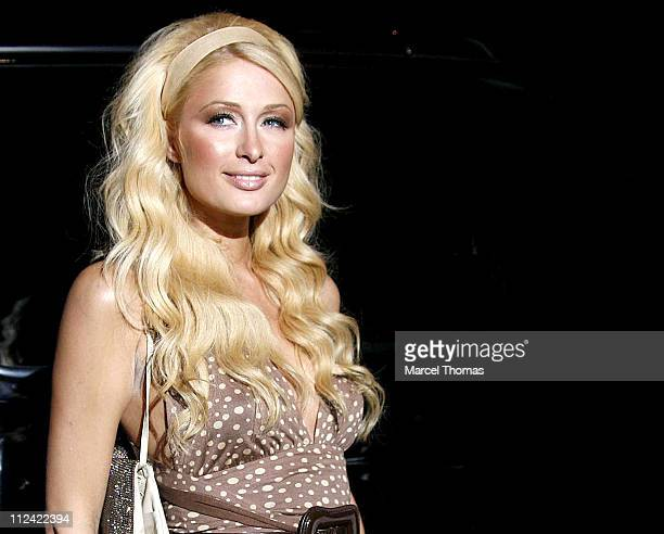 Paris Hilton during Paris Hilton CD Release Party At Marquee August 16 2006 at Marquee in New York City New York United States