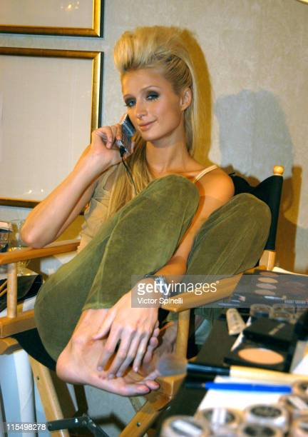 Paris Hilton during The Best of Italy Designer Showroom Day 4 at Le Meridian Hotel in Beverly Hills California United States