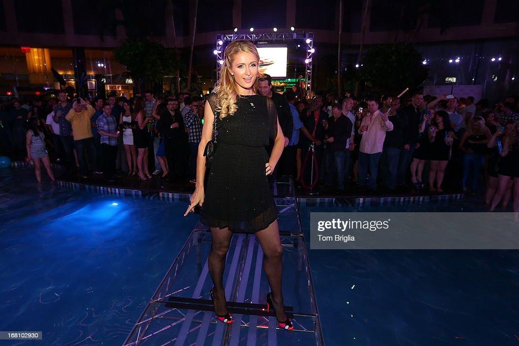 <a gi-track='captionPersonalityLinkClicked' href=/galleries/search?phrase=Paris+Hilton&family=editorial&specificpeople=171761 ng-click='$event.stopPropagation()'>Paris Hilton</a> hosts The Pool After Dark's Six year anniversary party at Harrah's Resort on Saturday May 4, 2013 in Atlantic City, New Jersey.